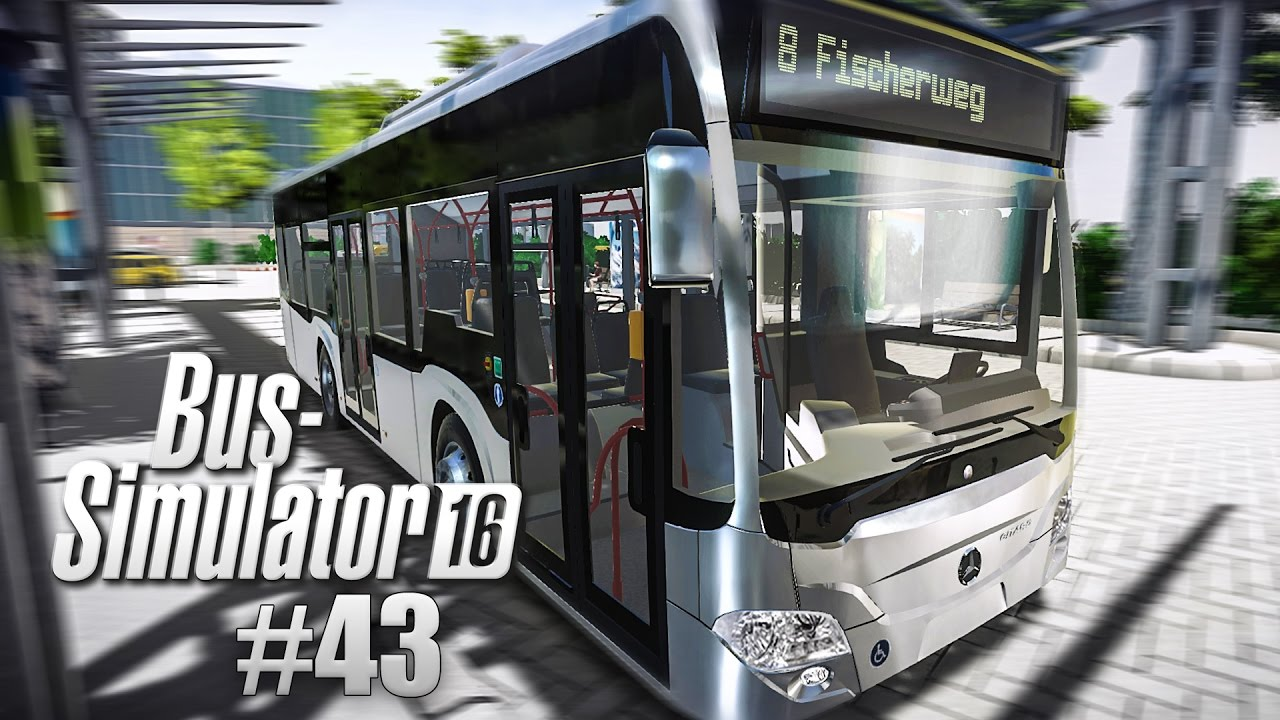 BUS SIMULATOR 16 #43: UNFALL auf der Kreuzung! BUS-Simulator 2016 ...