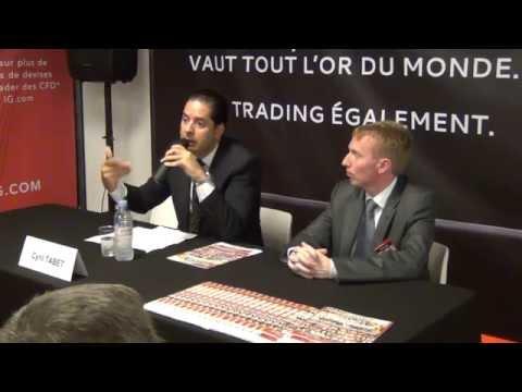"""Conférence: """"L'industrie du Forex et des CFD en 2014"""" par Cyril TABET, PDG de JFD Brokers 1/3"""