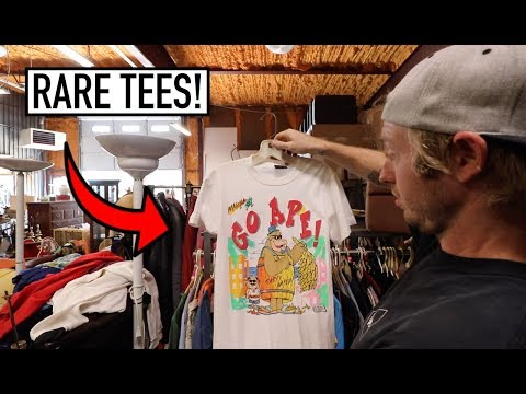 UNEXPECTED FINDS AT LOCAL ANTIQUE SHOP - RARE Vintage Tees!