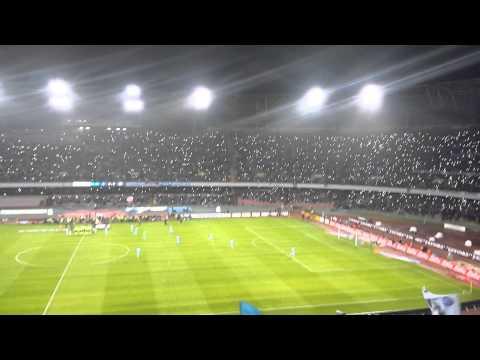 Napoli remembering Pino Daniele before Napoli v Juventus