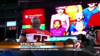 Devon Still reacts to Patriots' tribute to h