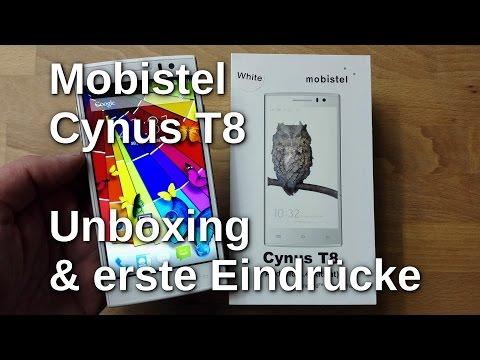 Mobistel Cynus T8 Unboxing und erste Eindrücke - www.technoviel.de