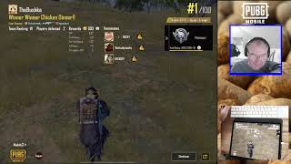 Birthday Live Stream - Learning 6 Finger Claw Pubg Mobile