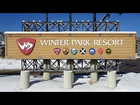 Winter Park Colorado Opening Day 2016 - First Chair! - 11/23/2016