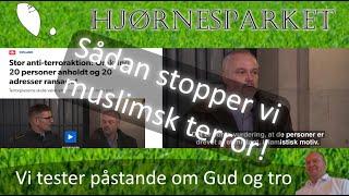 SÅDAN STANDSER VI MUSLIMSK TERROR! - Terror i Danmark afværget af PET