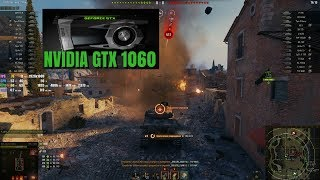 Відеокарта GeForce GTX 1060, World Of Tanks, налаштування ультра.Найкращий бій наTVP T50/51.