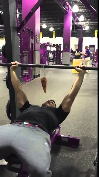 free pizza at planet fitness youtube