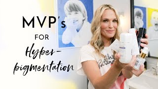 Best Products To Treat Hyperpigmentation | Molly Sims 2018