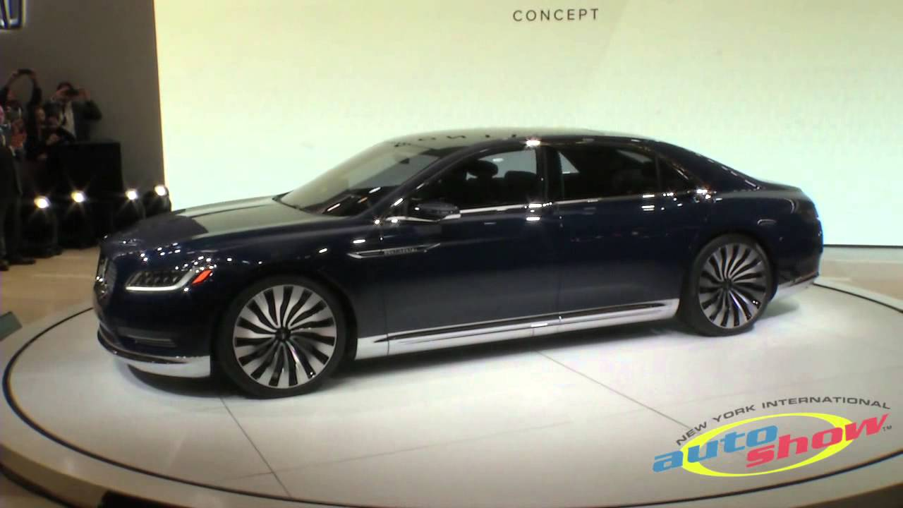 Lincoln Continental Review 2017 Sedan