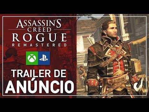 Assassin's Creed Rogue Remastered: Trailer de Anúncio