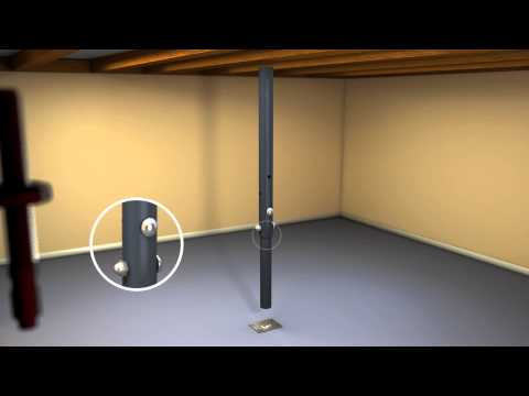 The Akron Products Company - Adjustable Jack Post