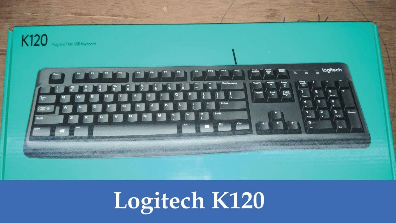 Logitech K120 Keyboard 600 Unboxing In Tamil Youtube Usb