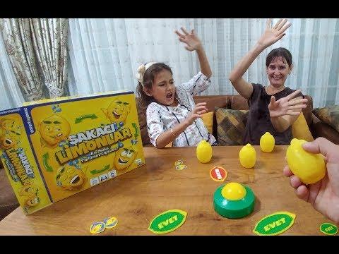 ŞAKACI LİMONLAR  EN SULU BOL ŞAKALI TAHMİN OYUNU, eğlenceli çocuk videosu, toys unboxing
