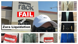 Reseller Vlog | Clear the Rack FAIL + Zara Liquidation