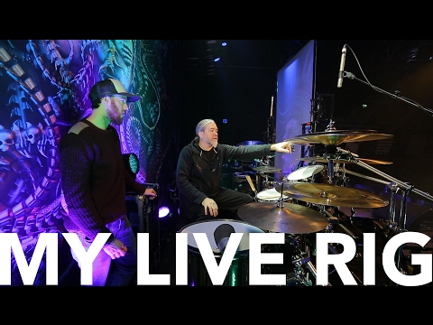 My Live Rig with Tomas Haake (Meshuggah) - Drums With Oisín (MMTV)