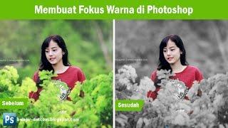 Cara Edit Foto Fokus pada Warna di Photoshop