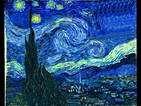 Notte stellata youtube for Van gogh notte