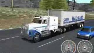 18 Wheels of Steel Haulin: Gameplay Video 1