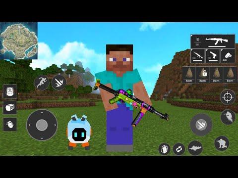 วิธีทำให้เกมมายคราฟเปลี่ยนไปเป็นเกมฟรีฟาย free fire addon Minecraft PE