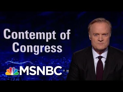 Dem Congressman: Trump Obstruction Is 'Disrespecting American Public' | The Last Word | MSNBC
