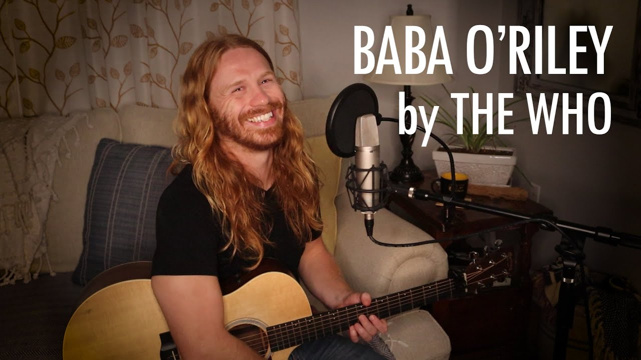 """""""Baba O'Riley"""" by The Who - Adam Pearce (Acoustic Cover)"""