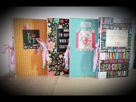 Tutorial *2/4 Echopark I`d rather be crafting   FolioBox with 4 folio`s