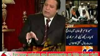 Hamid Mir asked Nawaz Sharif about his low tax payment ?? what an Answer