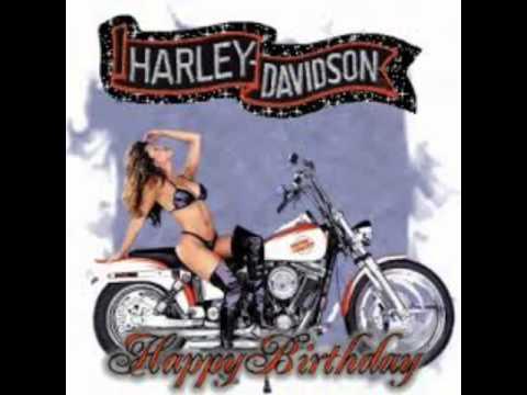 Harley Davidson Geburtstagsgrusse Youtube