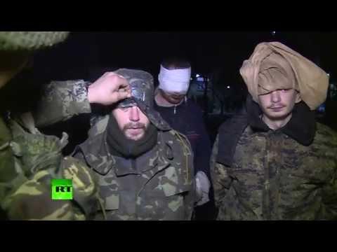 Пленные украинские солдаты: