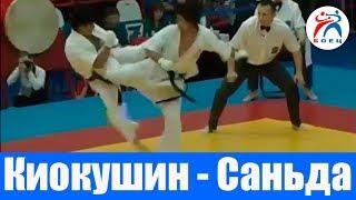Киокушинкай против Ушу Саньда. Матчевая встреча Россия-Китай.
