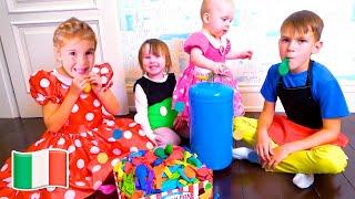 Cinque Bambini La raccolta di video per i bambini. Nuovi episodi
