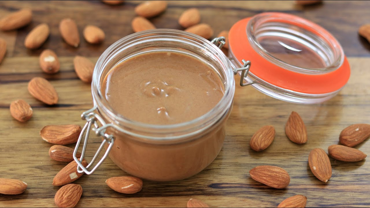 How to Make Homemade Almond Butter | Almond Butter Recipe
