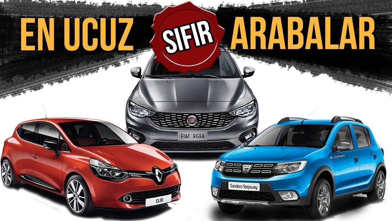 En Ucuz Sifir Arabalar 2019 Fiyatlari Bu Fiyatlar 2 El Araba Satisini Durdurur Youtube
