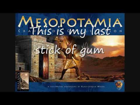The Mesopotamians with lyrics