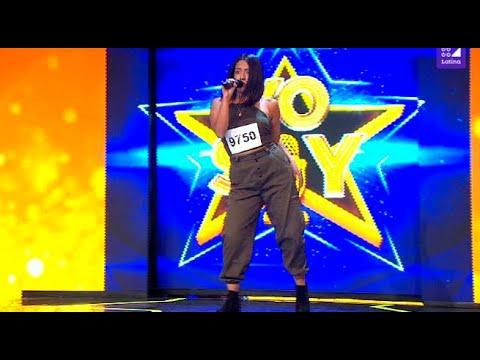 """Imitadora de Becky G cantó """"Sin pijama"""" y convenció al jurado de Yo Soy"""