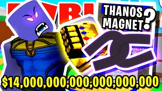 KAUFEN SIE DAS *NEUE* 265.000.000.000.000 MAGNET IN ROBLOX MAGNET SIMULATOR!! (Super mächtig)