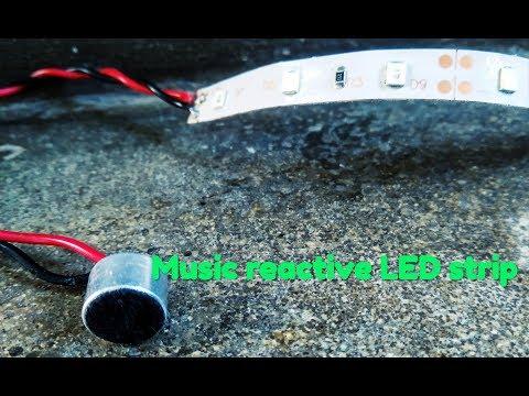 sound reactive led strip - Myhiton