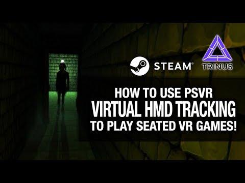 HOW TO USE PSVR VIRTUAL HMD TRACKING FOR PC VR GAMES // TRINUS PSVR & VR GAMEPLAY