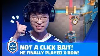 X-BOW MASTER PLAYED X-BOW AGAINST X-BOW HARD COUNTER! | X-bow master vs ahq MasterHong | CRL Asia
