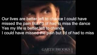 The Dance with lyrics by Garth Brooks