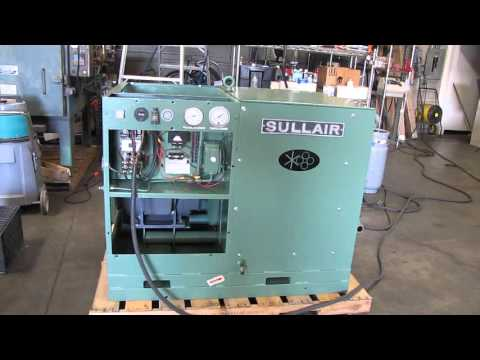 Sullair 40hp Rotary Screw Air Compressor Reliance 3 Phase Electric Motor