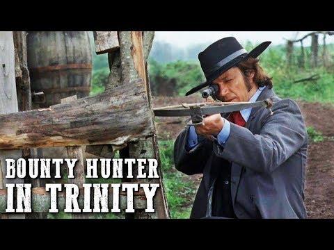 Bounty Hunter in Trinity   WESTERN FOR FREE   Full Length Cowboy Film   Italo Western