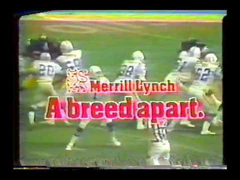 1980 NFL on NBC Intro