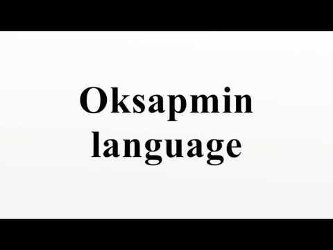 Oksapmin language