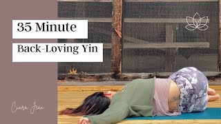 35 minute Back Loving Yin