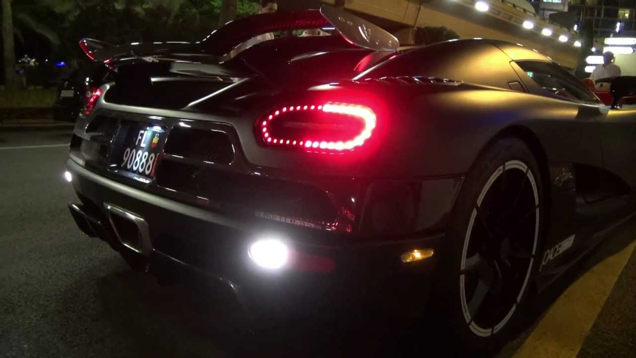 Koenigsegg Agera Flame Revs And Small Accelerations Youtube