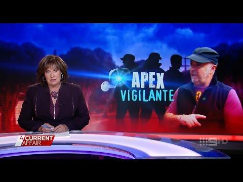 ACA. Apex Vigilante. (Man Combats Black African Gangs)(Clayton)