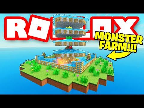 AUTOMATIC MOB FARM In Roblox Stranded! *Insane!* |