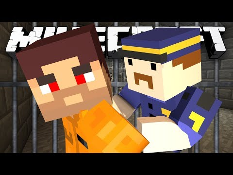 Minecraft: NEW COPS AND ROBBERS! - w/Preston & Friends
