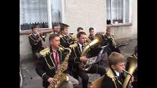 Духовий оркестр  Український Марш  Маневичі  Школа №1